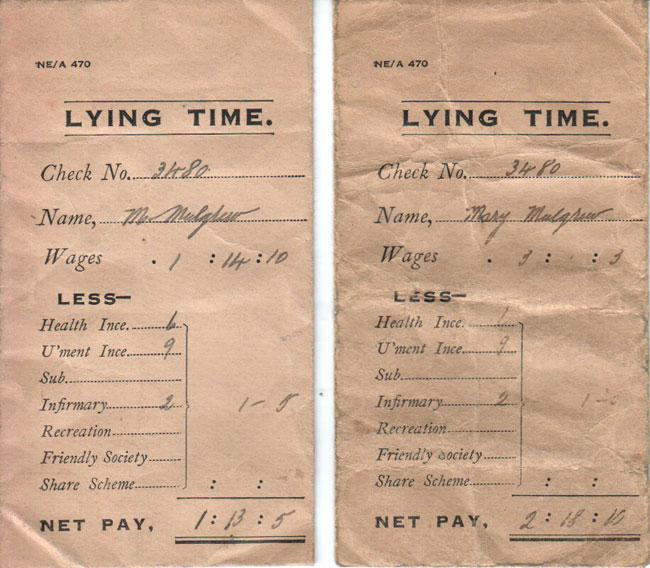 lying time
